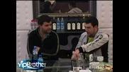 Vip Brother 3 - Устата и Ицо Хазарта намериха общ език 19.03