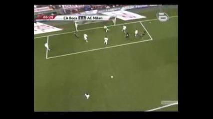 Ca Boca гол срещу Ac Milan 30.07.09г