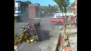 Катастрофа Между 2 Пожарни Коли