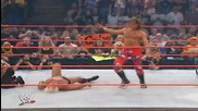 Sweet Chin Music On Ric Flair And Chairshot On Shawn Michaels - Bad Blood 2003
