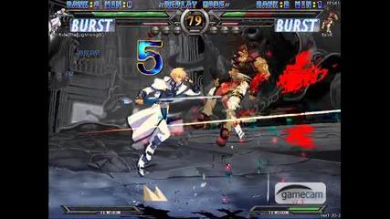guilty gear xx online combo ky kiske 3