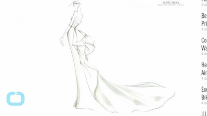 Sketches From Marchesa & Lela Rose's Bridal Spring Collections