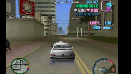 Gta Vice City Taxi 2 и Яка Полицейска Кола