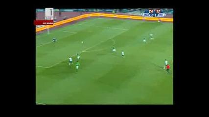 Ирландия поведе на България с гол на Дън