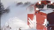 Железопътни снегорини - компилация