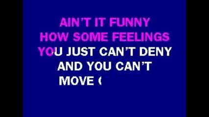 Jennifer Lopez - Aint It Funny karaoke