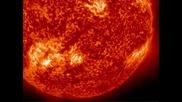 800 000 Км Огнено Слънчево Влакно