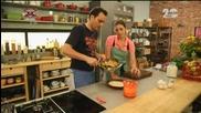 "Паста ""Пица"", пикантно гаспачо от краставици и ябълков пай - Бон апети (09.09.2014)"