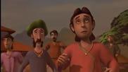 Малкият Кришна - 12 епизод Индийска анимация с английско аудио