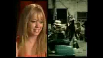 Hilary Duff Making Of why Not
