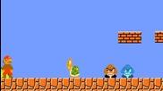 Супер Марио срещу костенурката - пародия