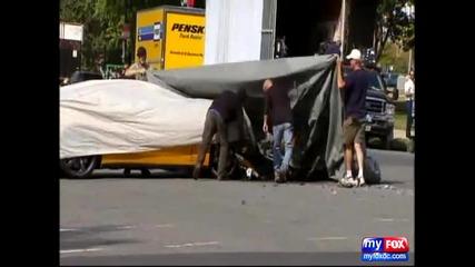 Трансформърс 3 - Camaro се разби по време на снимките