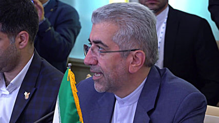 Iran: Russian and Iranian energy ministers sign agreements in Isfahan
