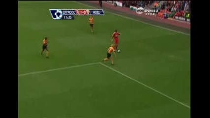 Liverpool Vs Hull City Torres 1 - 0