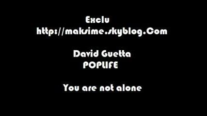 David Guetta - You Are Not Alone