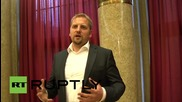Croatia/Serbia: 'Liberland' leader Vit Jedlicka arrested by Croatian authorities *ARCHIVE*