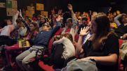 """Децата на """"ЕСПА"""" специални гости на среща с популярния английски писател Гай Бас"""