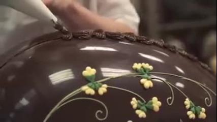 Най-голямото шоколадово яйце за Великден