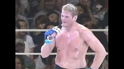 Josh Barnett vs Mark Hunt