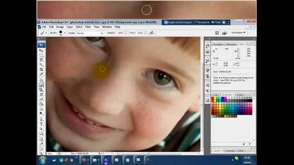Видео уроци:photoshop Cs3: Как да направим кожата перфектна