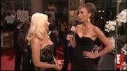 2011 Golden Globes Christina Aguilera