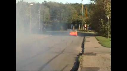 Bmw E30 325 Turbo Burnout - 600hp