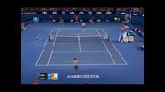 Федерер мина без проблеми в четвъртия кръг в Мелбърн