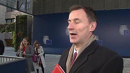 Belgium: ECJ Brexit ruling 'irrelevant' says UK Foreign Secretary Hunt