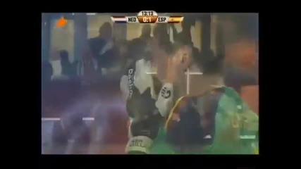 Икер Касияс плаче след гола на Иниеста - Световно първенство 2010 - финал