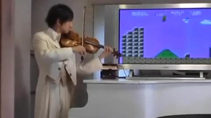 Super Mario на цигулка
