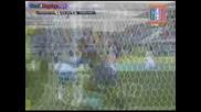 13.09.09 Страхотед удар с глава на Джилардино и осигури победата на Фиорентина над Каляри
