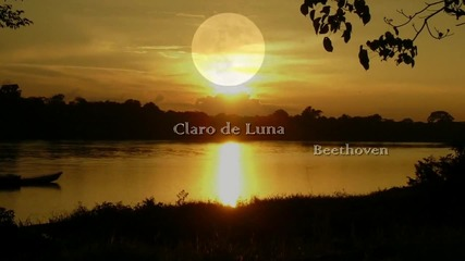 Лунна соната Лудвиг ван Бетховен - Claro de luna Beethoven