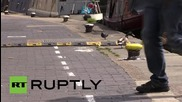 UK: What the duck? Quackers Brits create duck lanes on congested canal paths