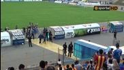 Ветераните на Левски показаха титлата си на феновете