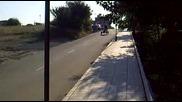 Малко дрифт с рикша