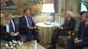 Italy: Lavrov meets Italian President Mattarella in Rome