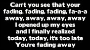 Rihanna - Fading (lyrics)