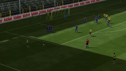 Fifa 13  marco Reus - Гол от пряк свободен удар [bvb]