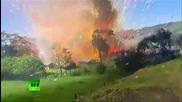 Експлозия на склад с фойерверки в Колумбия