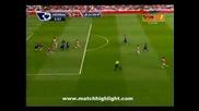 04.09.09 Арсенал 0 - 1 Блекбърн Гол