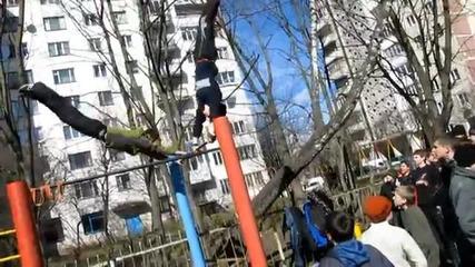 Малко Руска тренеровка на лостове