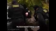 Тренировка на спецназ (русия)