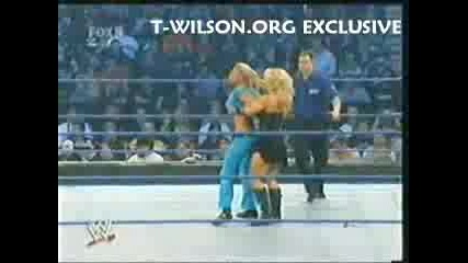 Torrie And Mickie Vs Beth And Victoria