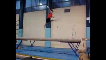 Спортна Гимнастика - Селиа Фернандез