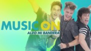 Soy Luna 2 - Запис Alzo Mi Bandera - Music On + Превод