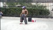 Уличен Танцьор В Париж
