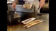 Китайски майстор виртуоз на рибата