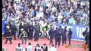 09.05.2009 Гол за Левски : Сектор Б сините полудяха