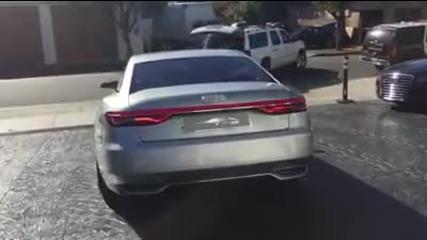 Audi A9 на пътя