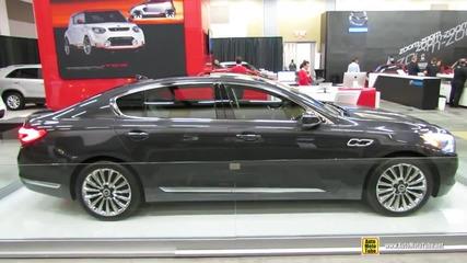 2015 Kia K900 - Exterior Walkaround - 2014 Ottawa Gatineau Auto Show